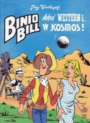 Wróblewski Jerzy-Binio Bill kręci western i w kosmos!